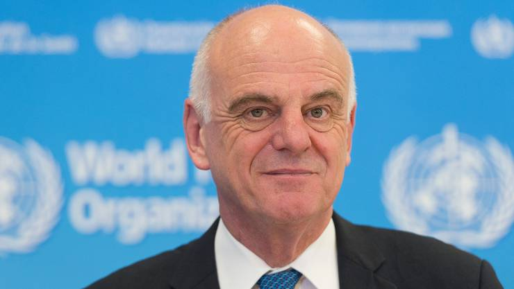 David Nabarro, WHO-Sondergesandter.