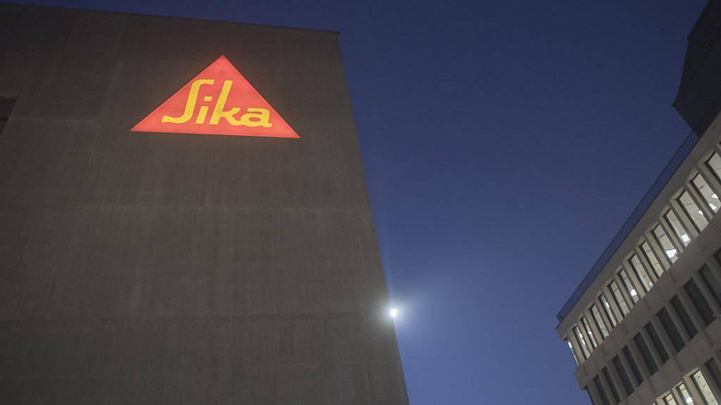 Die auf Bauchemikalien ausgerichtete Sika-Gruppe hat in den ersten drei Geschäftsquartalen sowohl Umsatz, als auch den Gewinn gesteigert. (Archivbild)