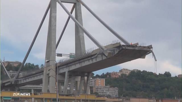 Brückeneinsturz in Genua: Mindestens 30 Tote