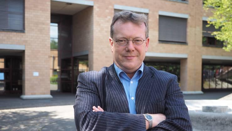 Er geht: Hans Marthaler gibt die Leitung des Berufsbildungszentrums Fricktal ab.