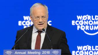Bundespräsident Johann Schneider-Ammann eröffnete am Mittwochabend das Weltwirtschaftsforum (WEF) in Davos offiziell.