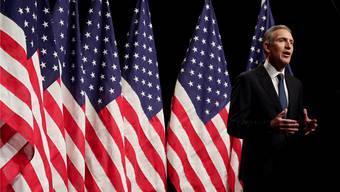 Howard Schultz bei einem seiner vielen Auftritte: Fordert er Trump heraus?