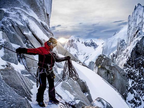 """2012 feierte Mammut das 150-jährige Firmenbestehen noch mit der Klettertour """"Biggest Peak Project in History"""", nun kommt das Aus für die Seilproduktion in Seon."""