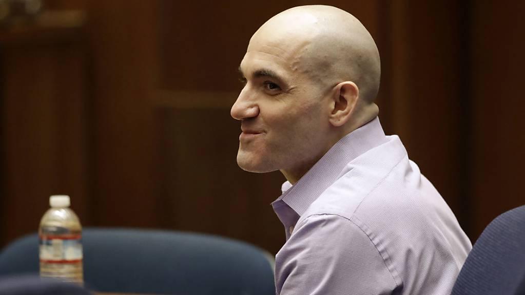Der als «Hollywood Ripper» bekannte Mörder Michael Gargiulo während der Gerichtsverhandlung in Los Angeles im August 2019. (Archivbild)