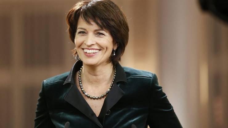 Bundespräsidentin Doris Leuthard rechnet in diesem Jahr weltweit mit Veränderungen, die auch auf die Schweiz Auswirkungen haben dürften. (Archivbild)