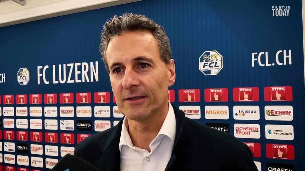 Der FC Luzern begrüsst Weiterführung der Meisterschaft