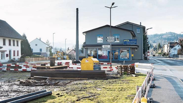 Projekte auf Innerorts-Kantonsstrassen, wie hier in Seon, zahlen heute Kanton und Gemeinde gemeinsam.