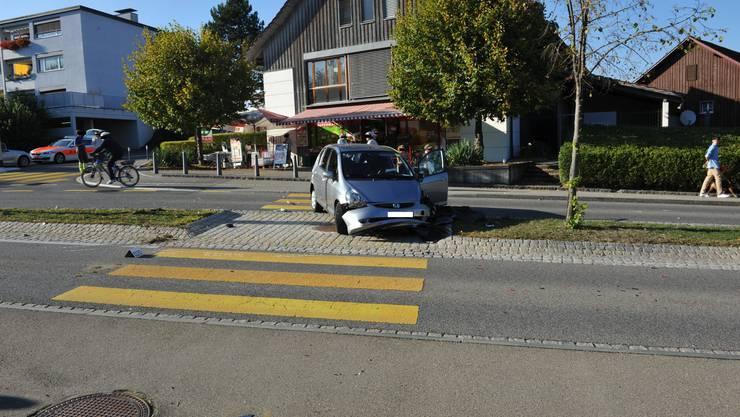 Auffahrtkollision mit Fahrerflucht in Wallisellen