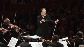 Riccardo Chailly und das Lucerne Festival Orchestra, hier an einem Konzert vom letzten Jahr, haben das Lucerne Festival mit Werken von Richard Strauss eröffnet.