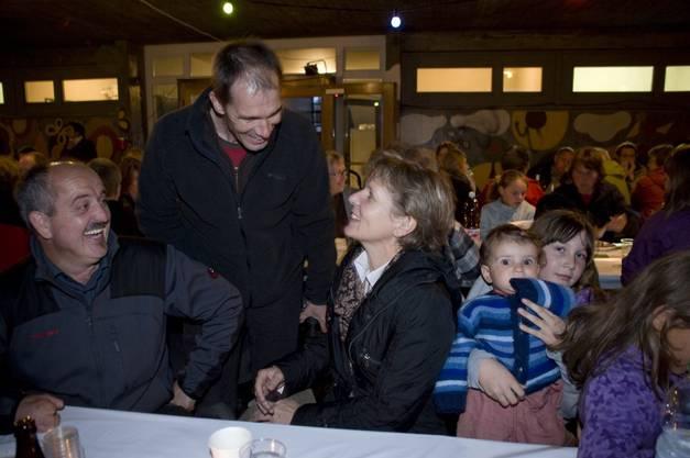 Zusammen mit der damaligen Nationalrätin Brigit Wyss feierte Hessigkofen den Solarpreis