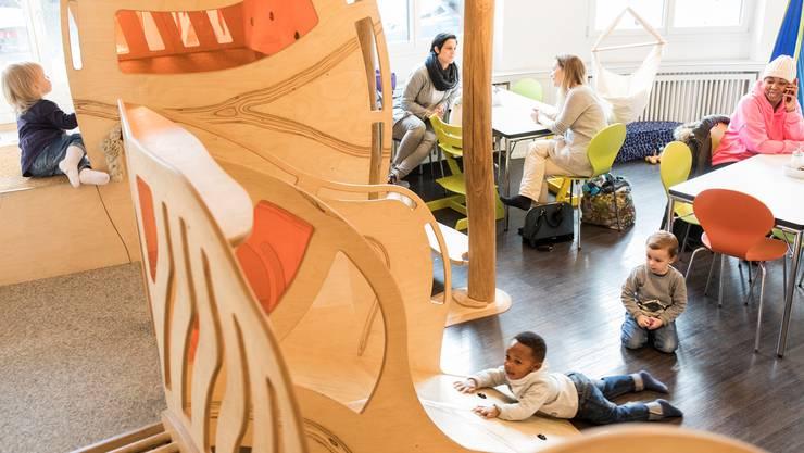 Für Familien ist das Café des Familienzentrums Karussell zu einem Treffpunkt in der Region geworden.