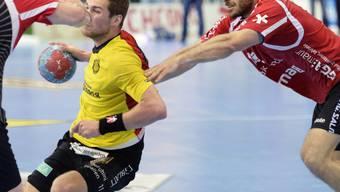 Gegen Tomas Babak (in gelb) fanden die Pfader in Spiel 5 kein Rezept