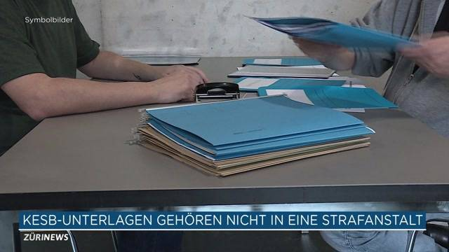 Heikle KESB-Unterlagen gehören nicht ins Gefängnis