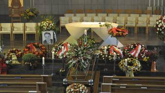 Beerdigung von Alt-Bundesrat Otto Stich