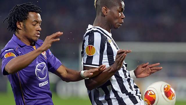 Juventus und Pogba gewinnen Europacup-Duell gegen Fiorentina