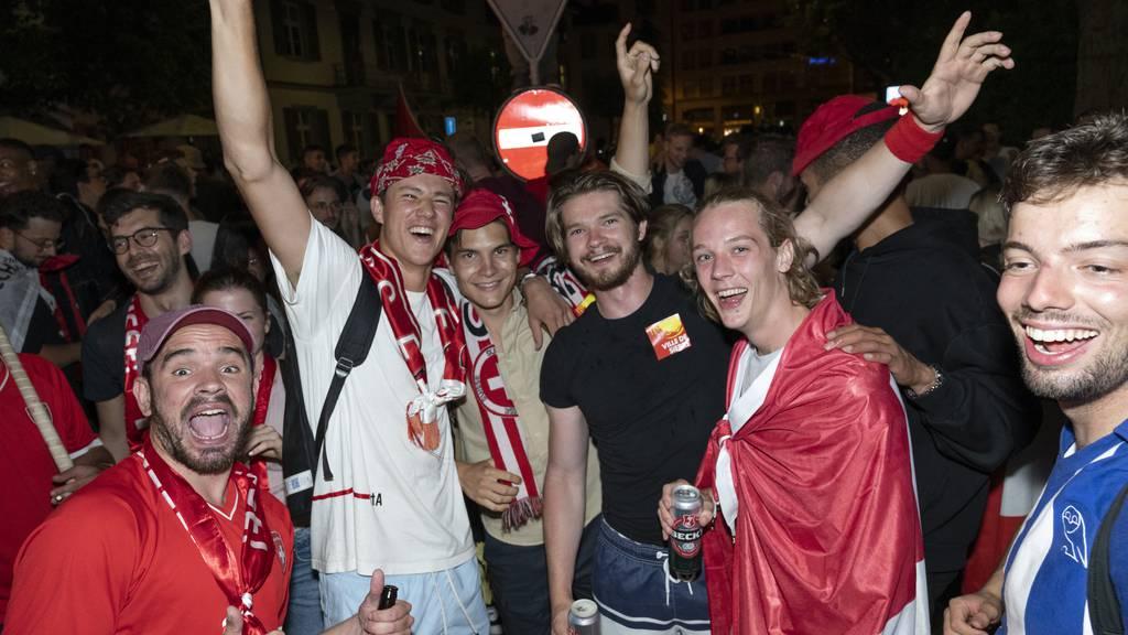 Freinacht in der Stadt St.Gallen – sofern die Schweiz gewinnt