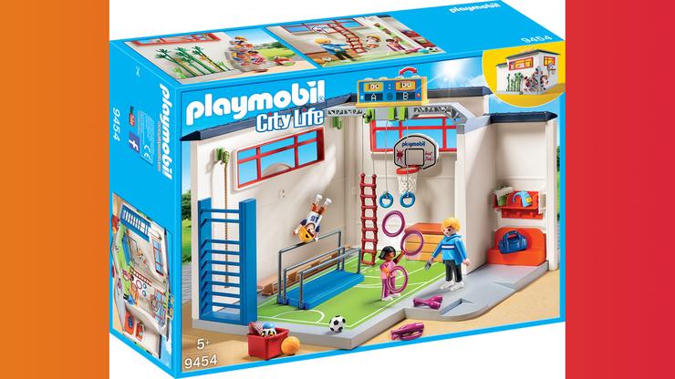 Wunsch-Nr. 28, Leonie, 8 Jahre, Playmobil Turnhalle, z.B. bei Manor, CHF 49