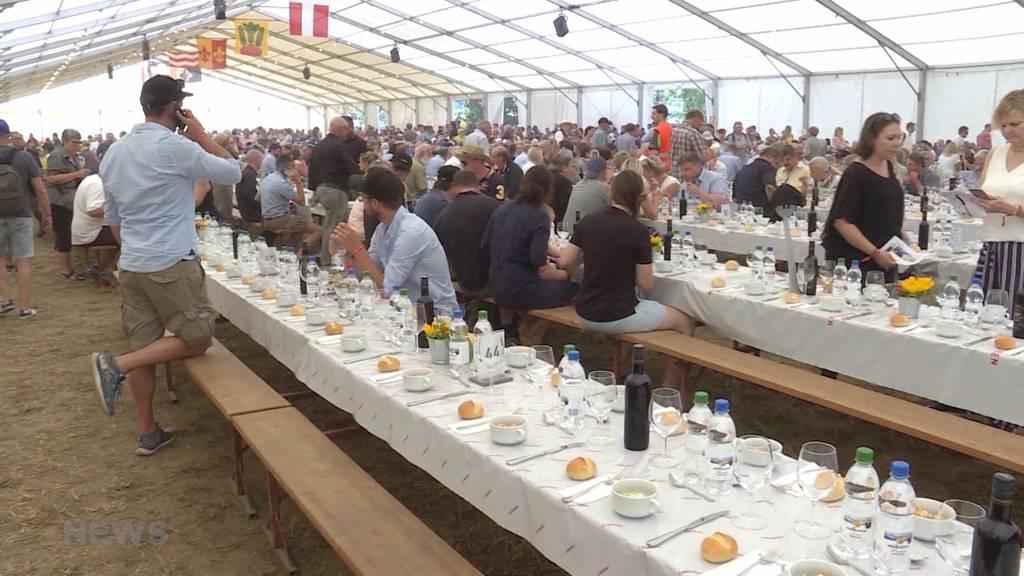 Das Bernisch Kantonale Schwingfest in Zahlen