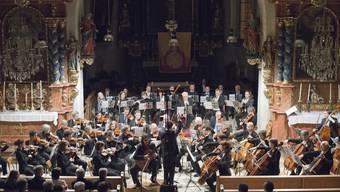 Das Philharmonische Orchester Riehen bei einem Auftritt.