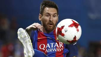 Lionel Messi kommt mit einer Geldbusse davon