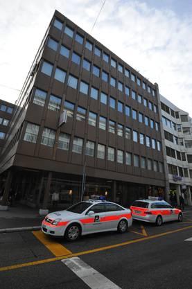 In diesem Geschäftsgebäude an der Frohburgstrasse 17 explodierte die Bombe.