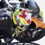 Schweizer Kreuze weit hinten: Dominique Agerter schaffte es beim GP von Portugal ebenso wenig in die Top 20 wie Tom Lüthi