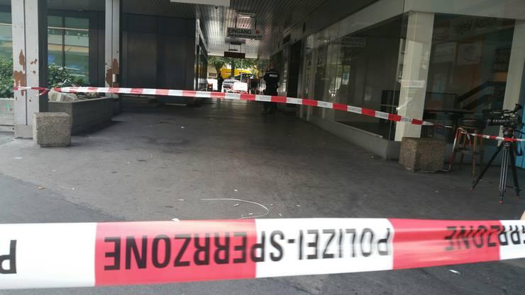 In Olten kam es am Freitagnachmittag zu einer Messerstecherei.