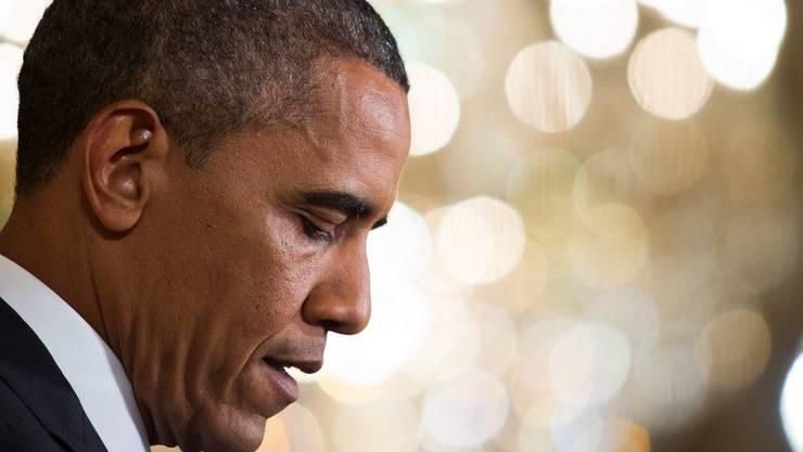Jassen als Zeitvertreib: Präsident Obama spielte Karten während seine Mannen Jagd auf bin Laden machten.