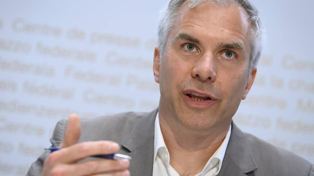 Der Leiter der Covid-Task-Force des Bundes, Martin Ackermann, ist überzeugt von der eingeschlagenen Strategie gegen das Coronavirus. (Archiv)