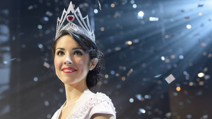 Die neue Miss Schweiz 2016: Lauriane Sallin.