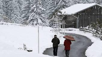 Schneelandschaft im Prättigau (Archiv)