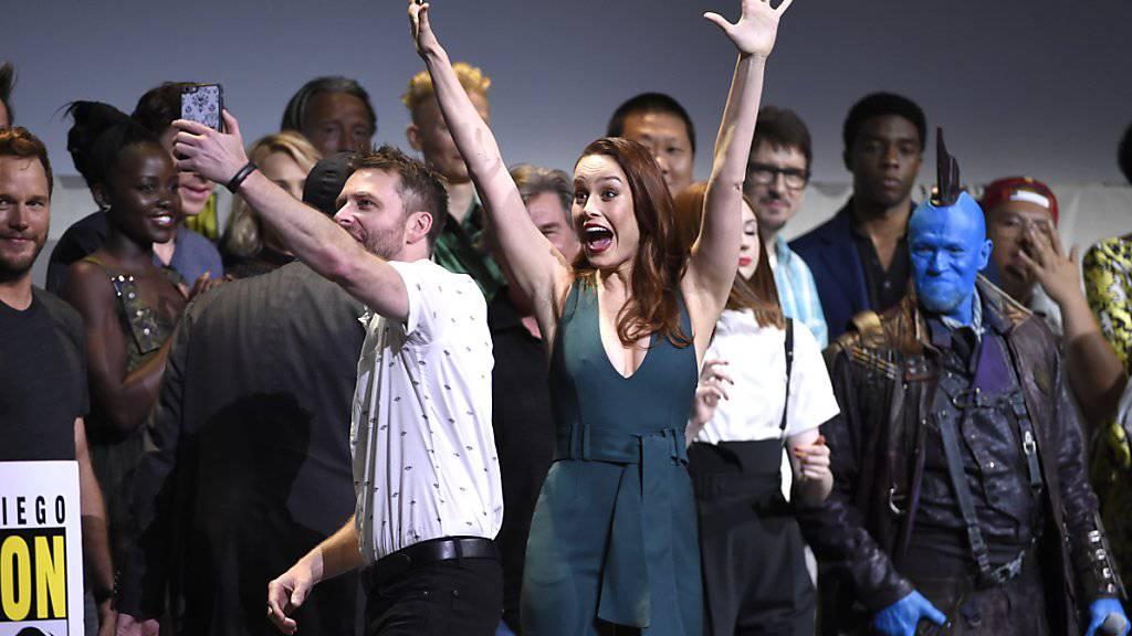 US-Schauspielerin Brie Larson wird «Captain Marvel»-Heldin.