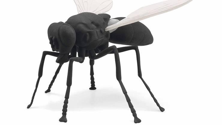 Die Plastik «Fliege» von Katharina Fritsch.
