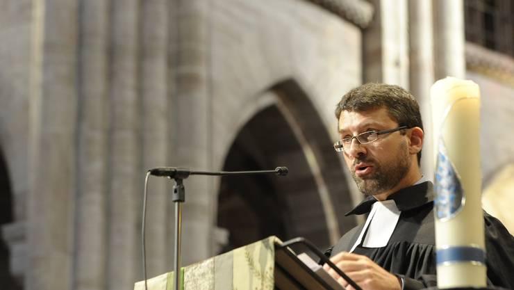 Gottfried Locher und die Evangelisch-reformierte Kirche werben am 9. Februar für ein Ja zum Verbot der Diskriminierung wegen sexueller Orientierung.