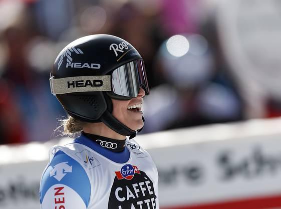 Hat gut lachen: Lara Gut-Behrami feierte beim Heimrennen in Crans-Montana ihren ersten Weltcupsieg seit über zwei Jahren