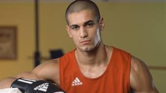 Davide Faraci gewann die Goldmedaille im Halbschwergewicht.