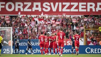 WM-Testspiel: Schweiz - Japan