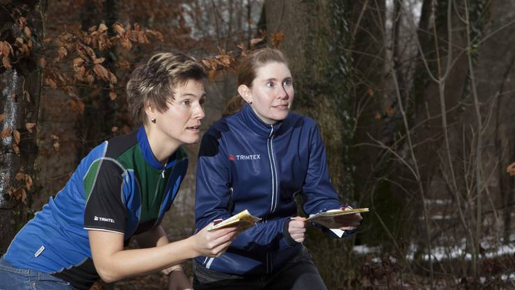 Andrea Kaspar (l.) und Rahel Gantenbein leiten das OK für die Staffelmeisterschaften.  Peter Siegrist
