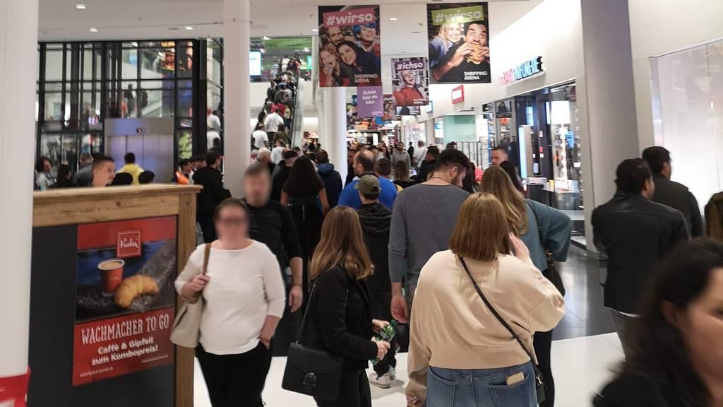 Shopping-Arena-Chef: «Andrang ist vergleichbar mit Weihnachtsgeschäft»