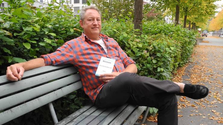 Thomas Pfann, der Initiant und Leiter des Projekts «1. Dietiker Roman». Das erste Kapitel des Buches ist bereits geschrieben.KEC