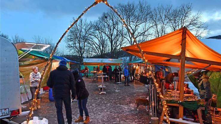 Der erste Weihnachtsmarkt in Ifenthal fand 2017 statt und war für die Organisatoren ein voller Erfolg. Bru