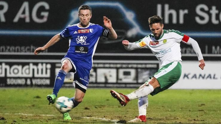 Der FC Wohlen trifft am Samstag um 16:00 Uhr auswärts auf den SC Cham.
