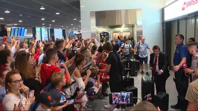 Adé WM-Abenteuer: Die Nati ist zurück in der Schweiz