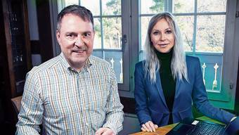 Michael Derrer und Atia Miraz haben solidarguthaben.ch lanciert.