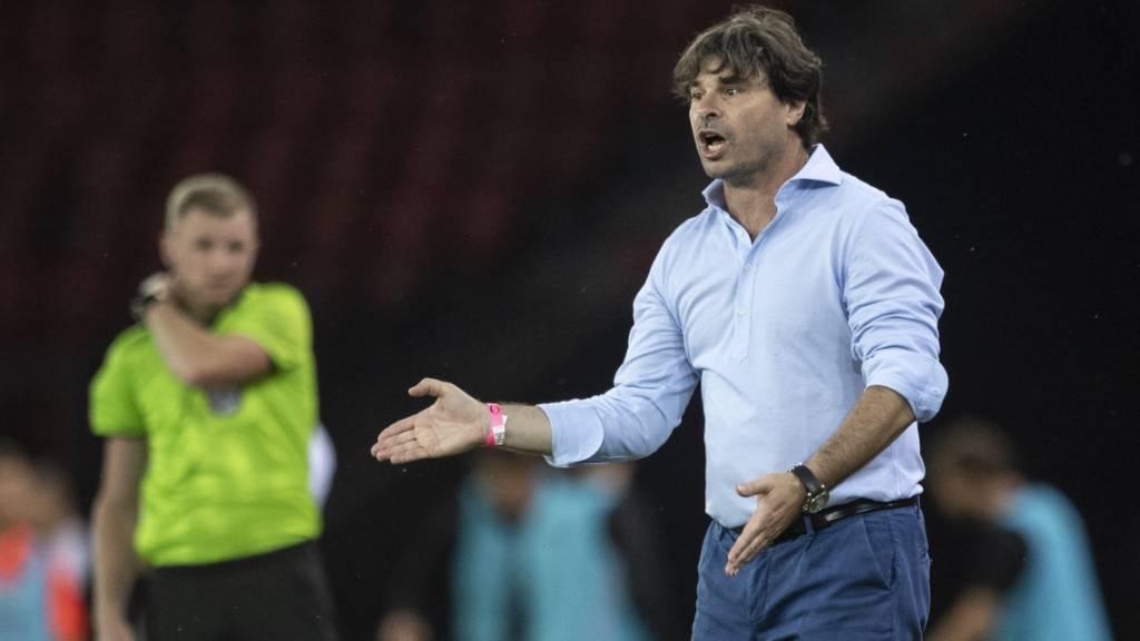 Für Wils prominenten Trainer Ciriaco Sforza läuft es derzeit gut