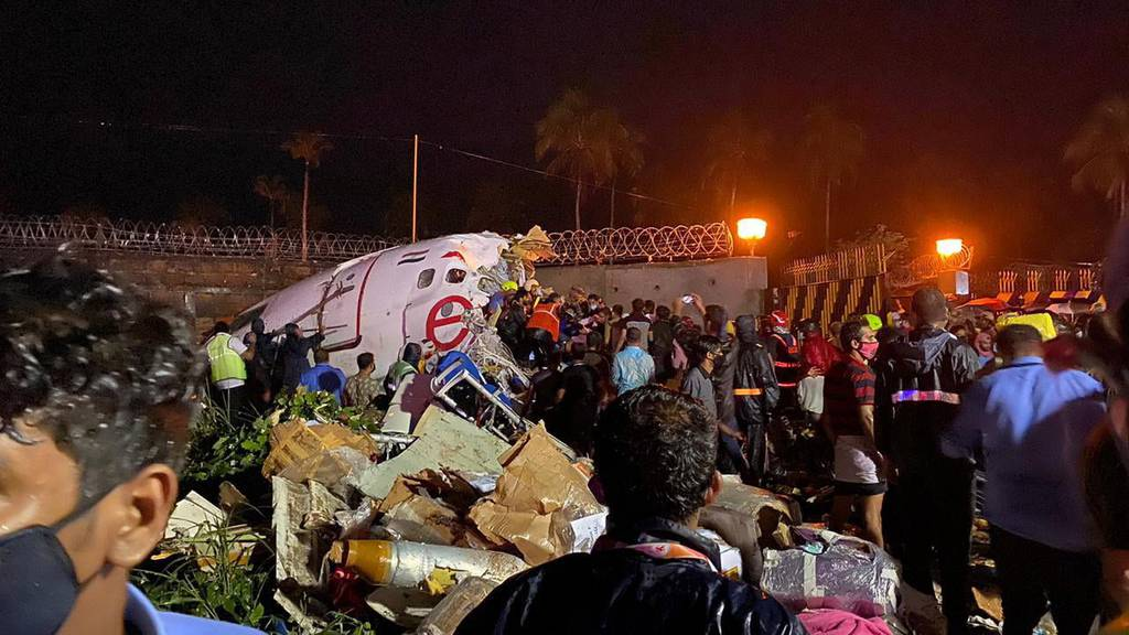 Flugzeugunglück in Indien fordert mindestens 18 Tote