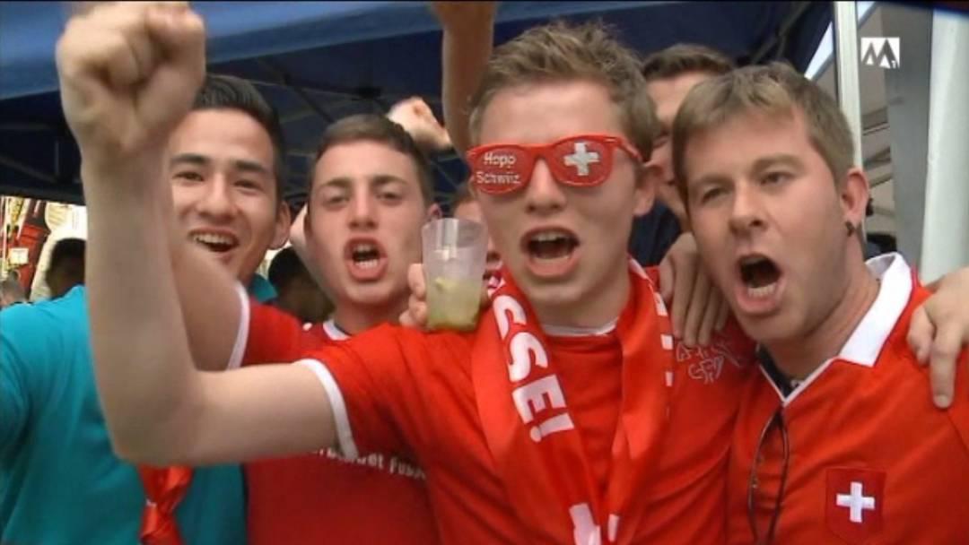 Schweizer Fans aus dem Häuschen nach WM-Sieg über Ecuador