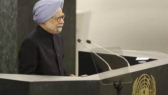 Der indische Premier Manmohan Singh in New York