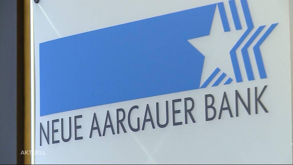 Neue Aargauer Bank hat erfolgreiches Jahr hinter sich