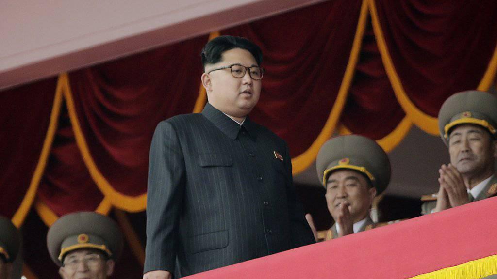 Nordkorea unter Führer Kim Jong Un macht Drohgebärden an die Adresse der USA und Südkoreas. (Archivbild)